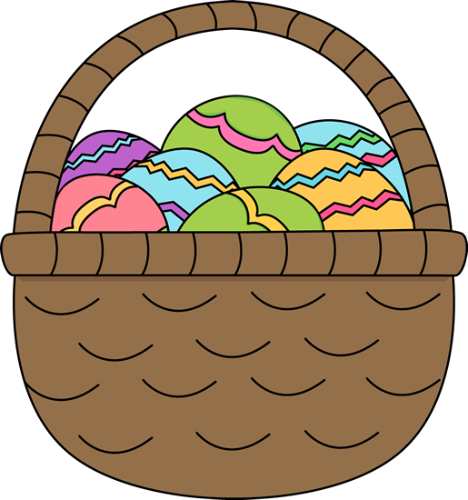 Easter basket clip art tumundografico