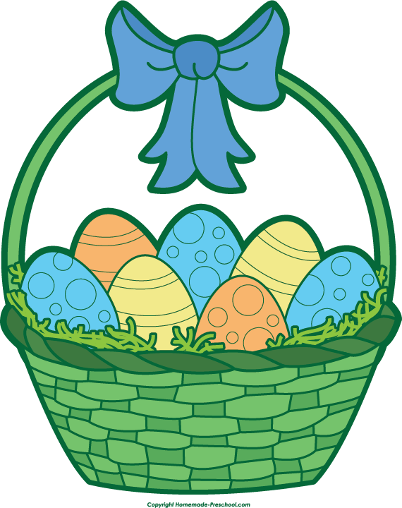 Easter basket clipart tumundografico 2