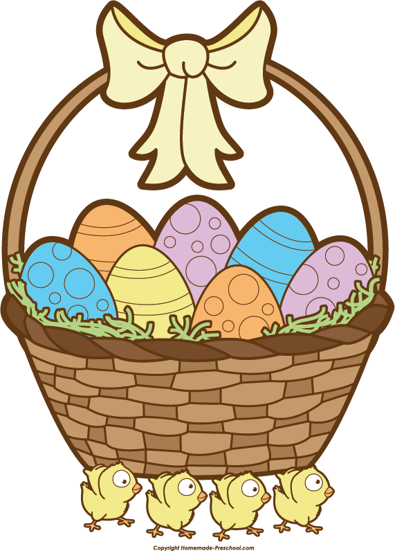 Easter basket clipart tumundografico 4