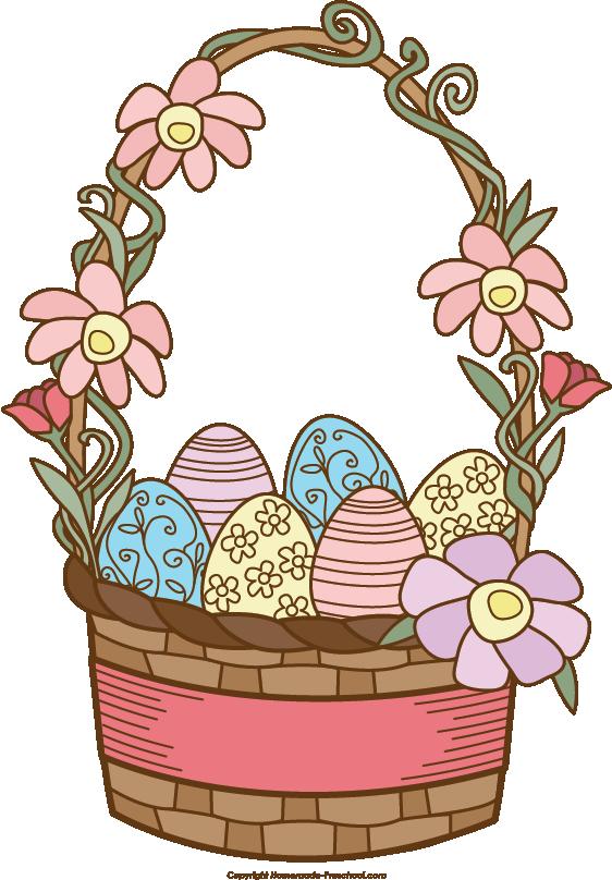 Easter basket clipart tumundografico