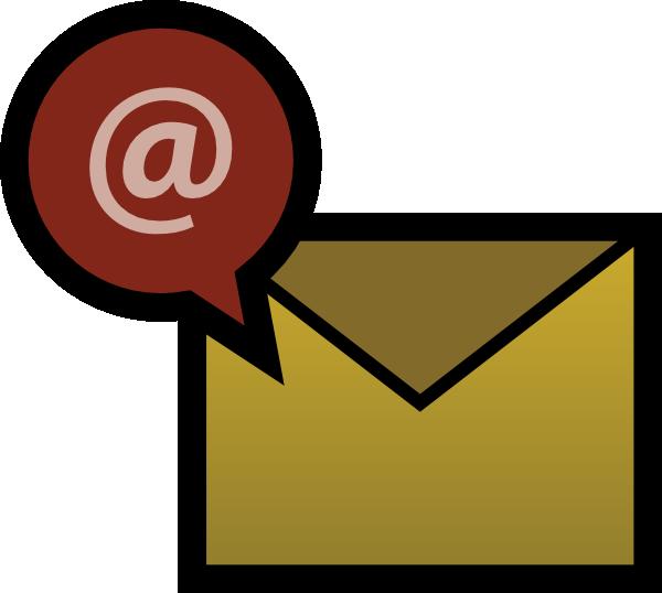 Email clip art at vector clip art free