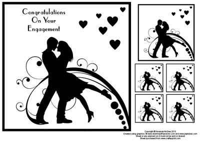Engagement clipart free images 3