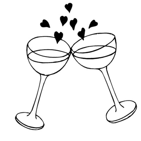 Engagement the world clip art