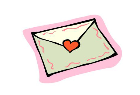 Envelope clip art for store