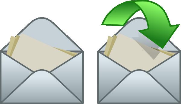 Envelope clip art free vector 4vector