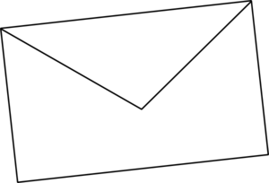 Envelope clipart black and white free images 2