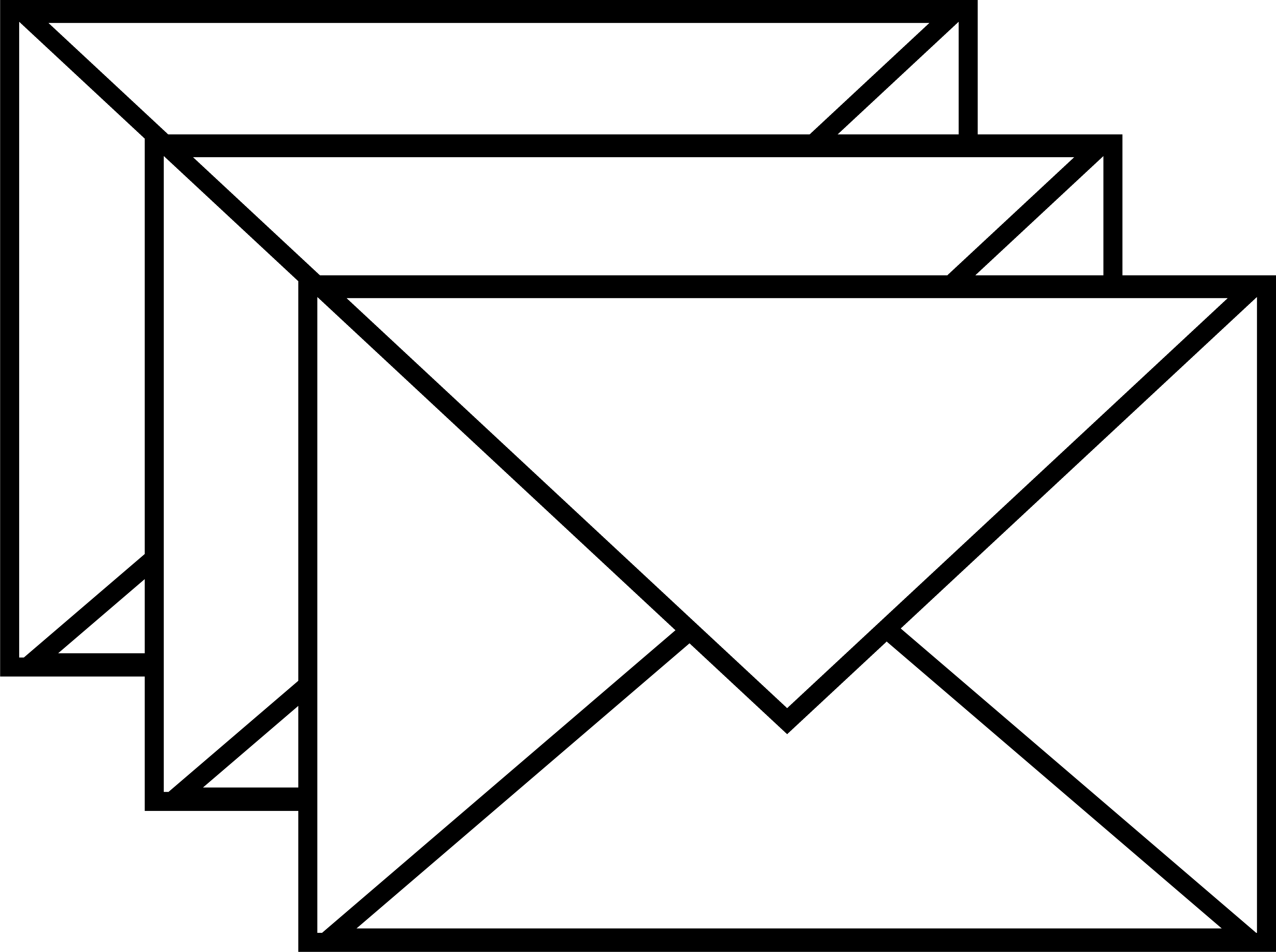 Envelope clipart black and white free images 3