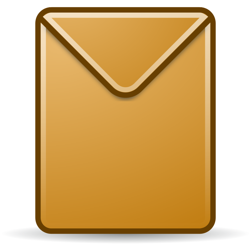 Envelope free to use clip art 2