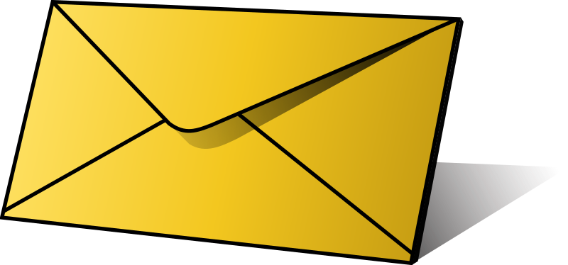 Envelope free to use clip art