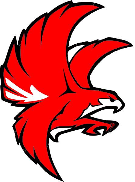 Falcon clipart 5