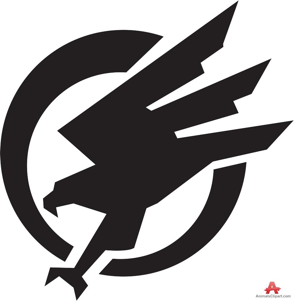 Falcons logo clip art clipartfest
