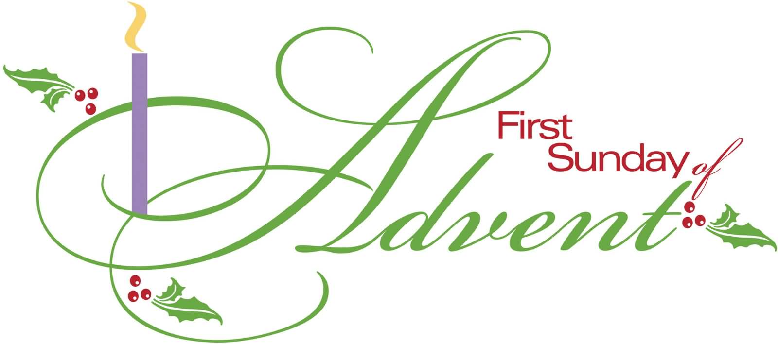 First sunday of advent clipart fb covers