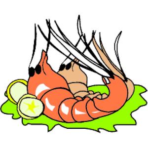 Food clipart shrimp clipartfest 3