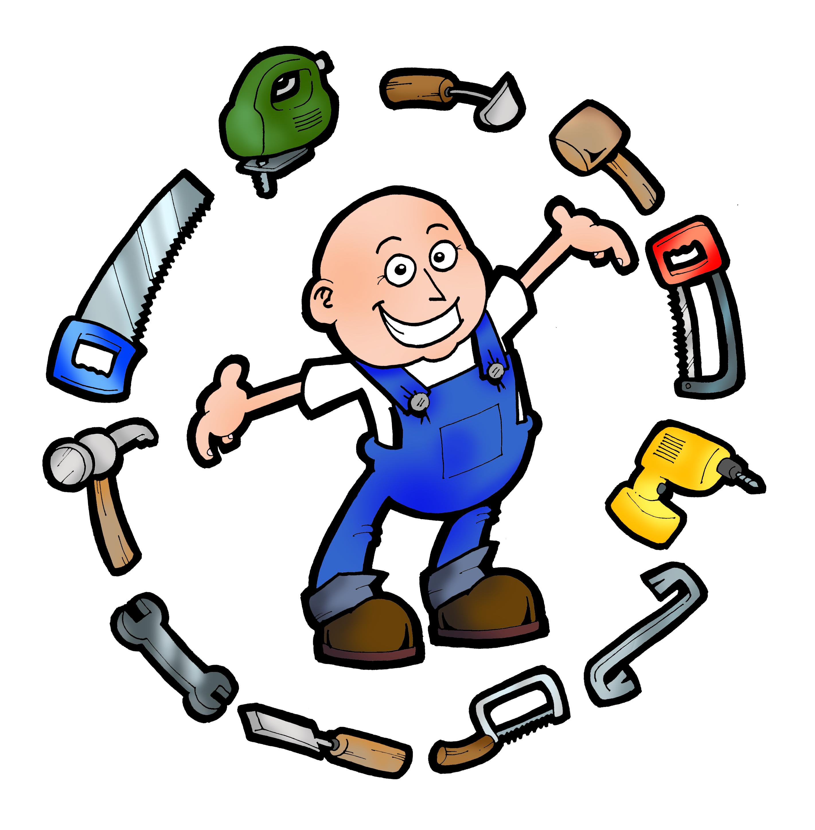 Free handyman logos clipart 3