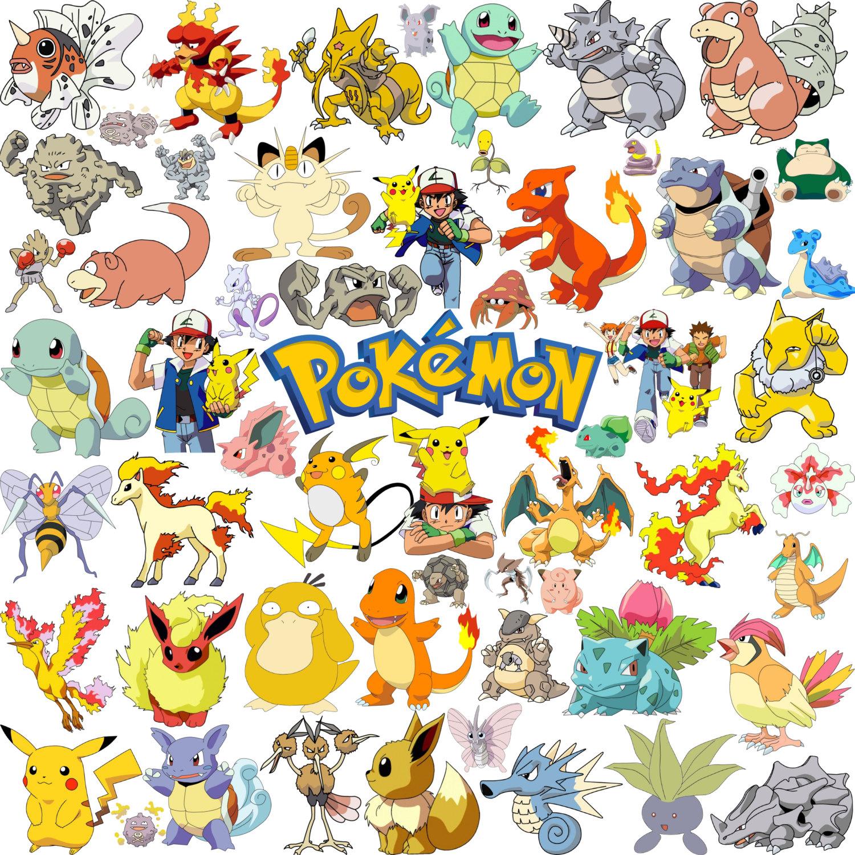 Free printable pokemon clipart clipartfest
