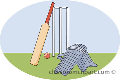 Free sports cricket clipart clip art pictures graphics 4