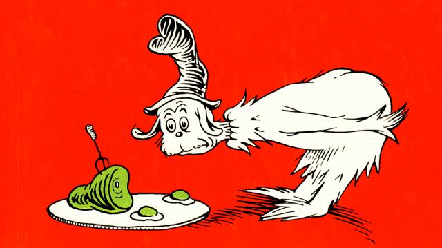 Green eggs and ham clip art 3