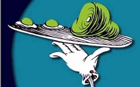 Green ham clip art 2
