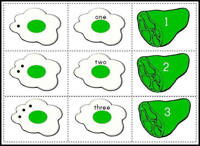 Green ham clip art 5
