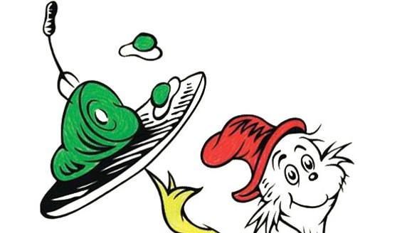 Green ham clip art