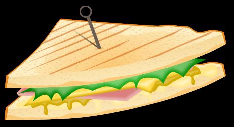 Ham clip art 4