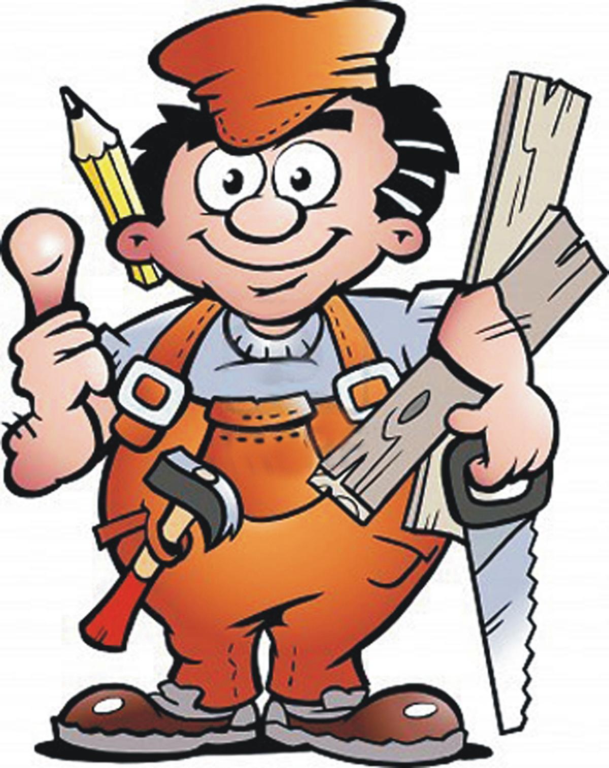 Handyman clipart clipartfest