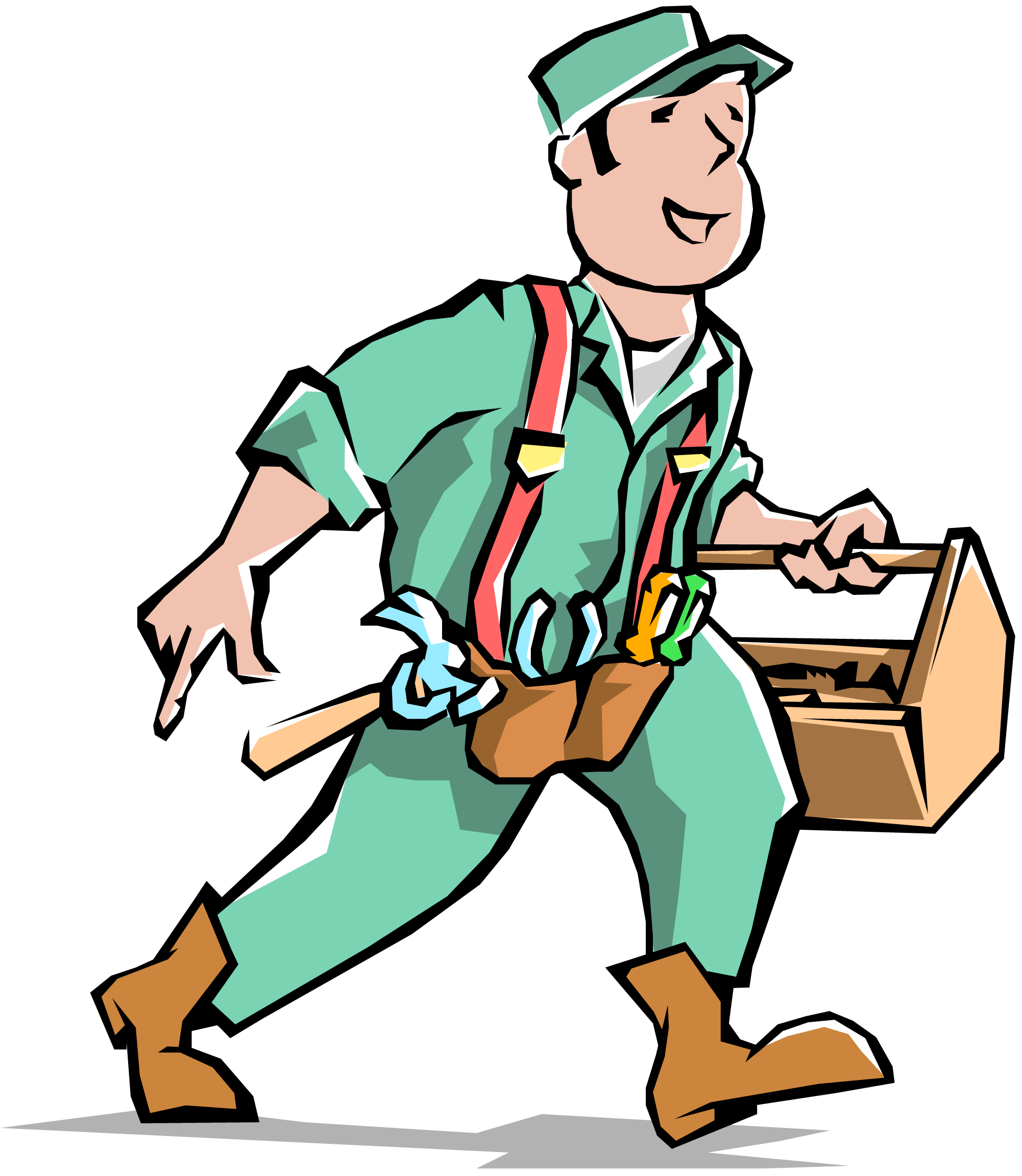 Handyman clipart handy man clipartfest