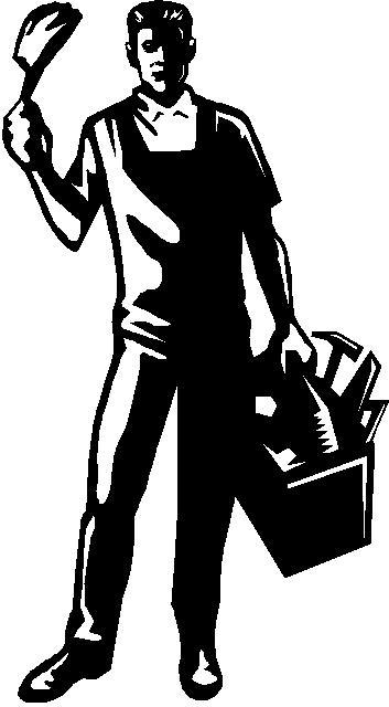 Handyman logo clipart