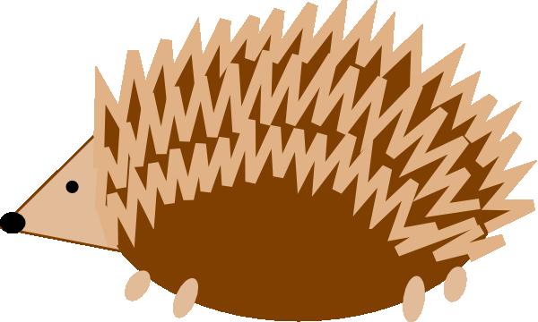 Hedgehog clip art at vector clip art