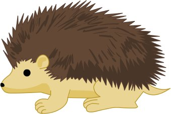 Hedgehog clip art clipartfest