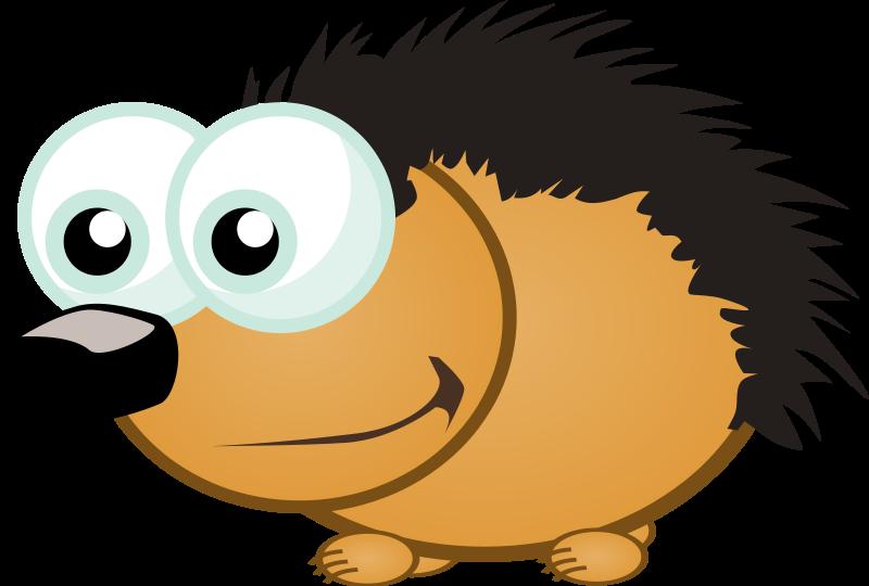 Hedgehog clip art free clipart images