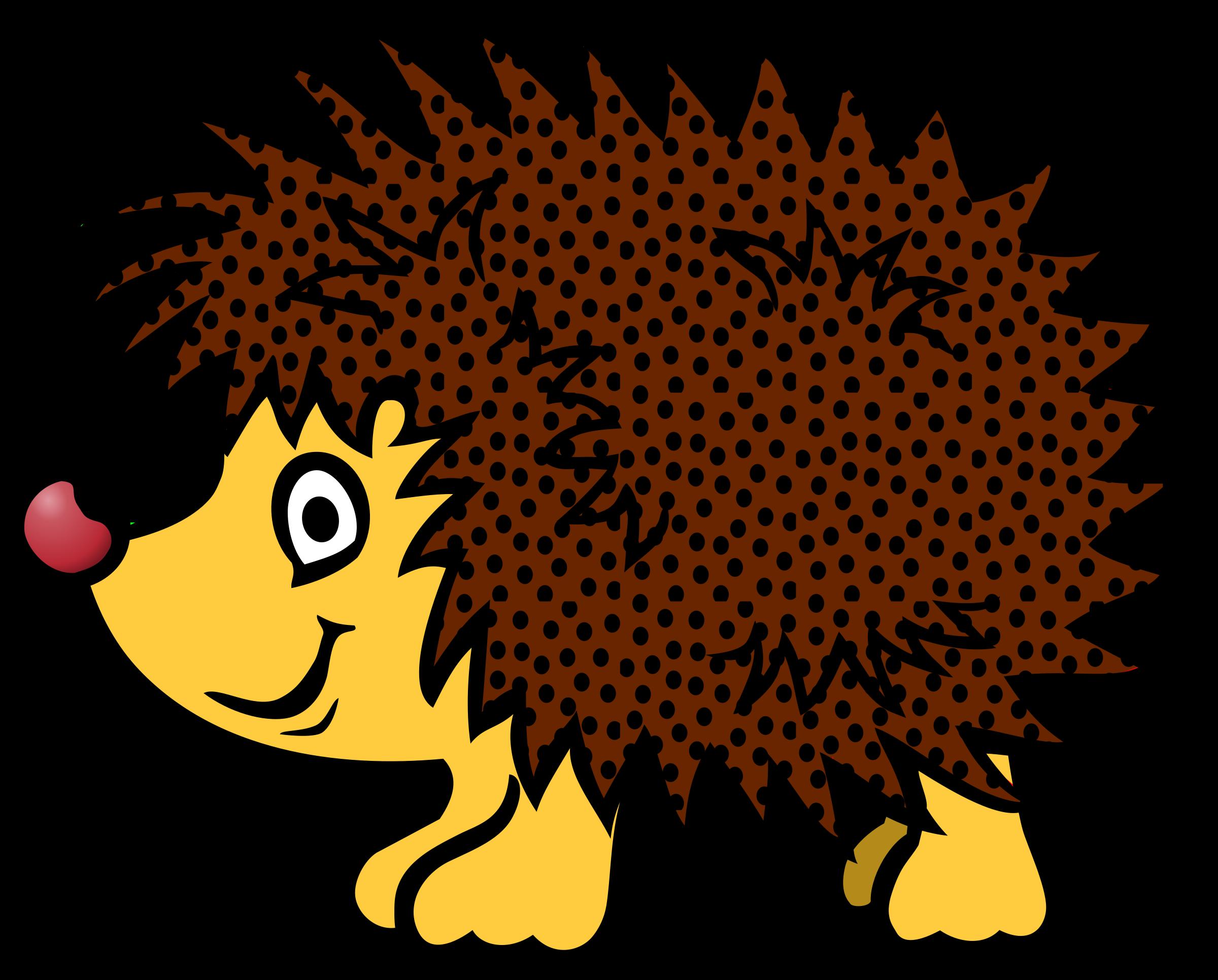 Hedgehog clip art the cliparts