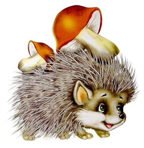 Hedgehog clip art too cute and autumn on