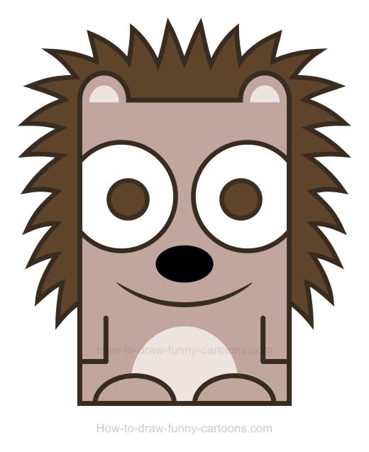 Hedgehog clipart 3