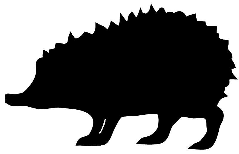 Hedgehog clipart 4