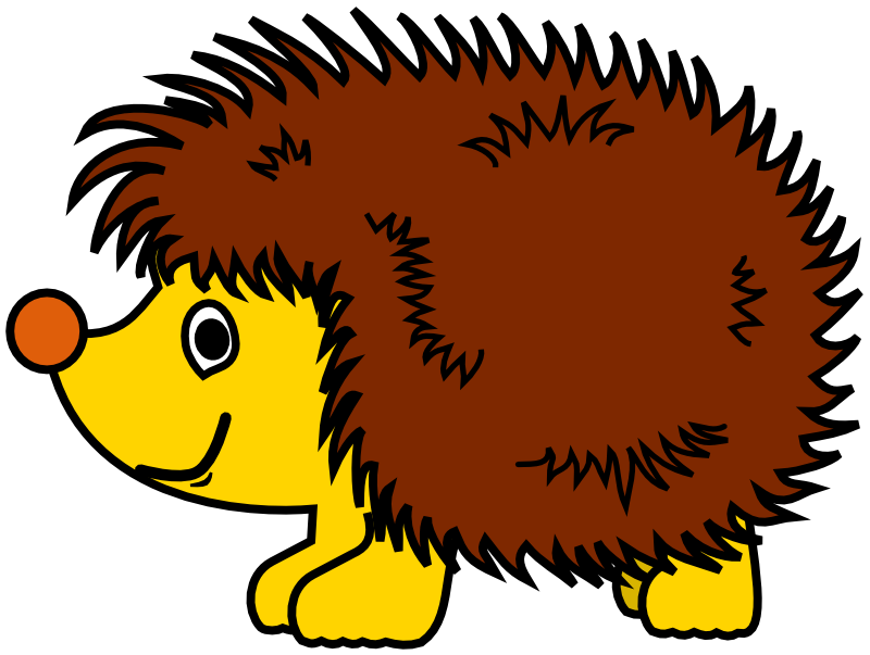 Hedgehog clipart tumundografico 2