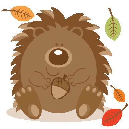 Hedgehog clipart tumundografico 5
