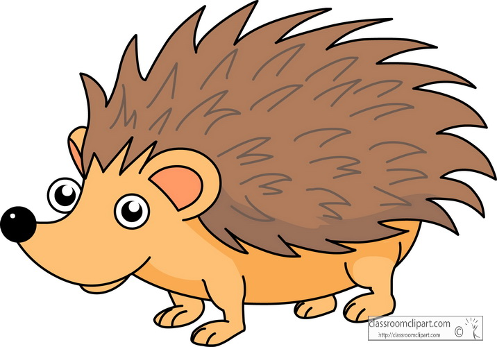 Hedgehog clipart tumundografico
