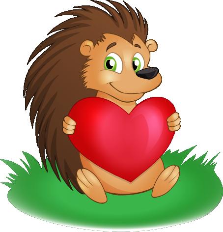 Hedgehog free to use clip art 2