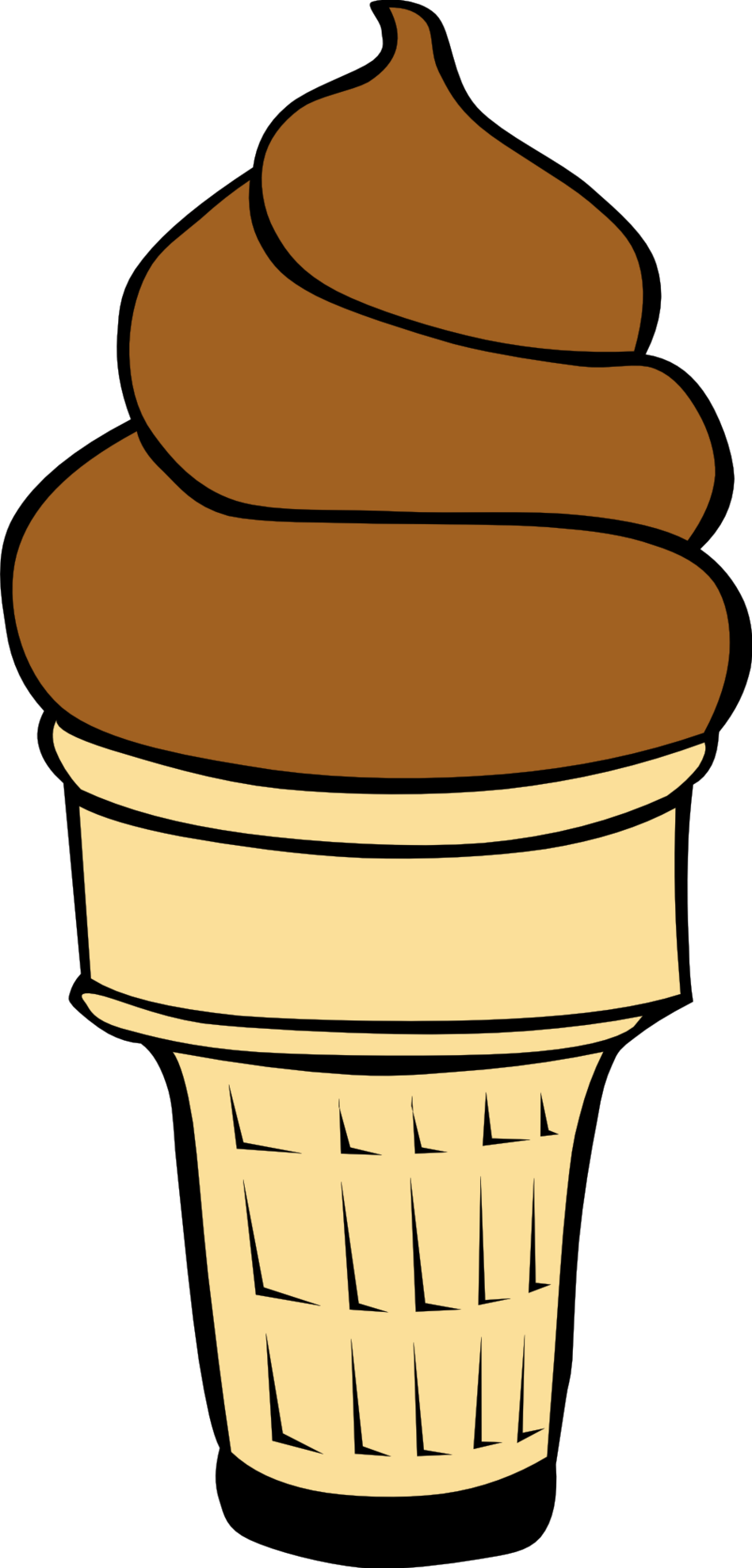 Ice cream cone clip art 2