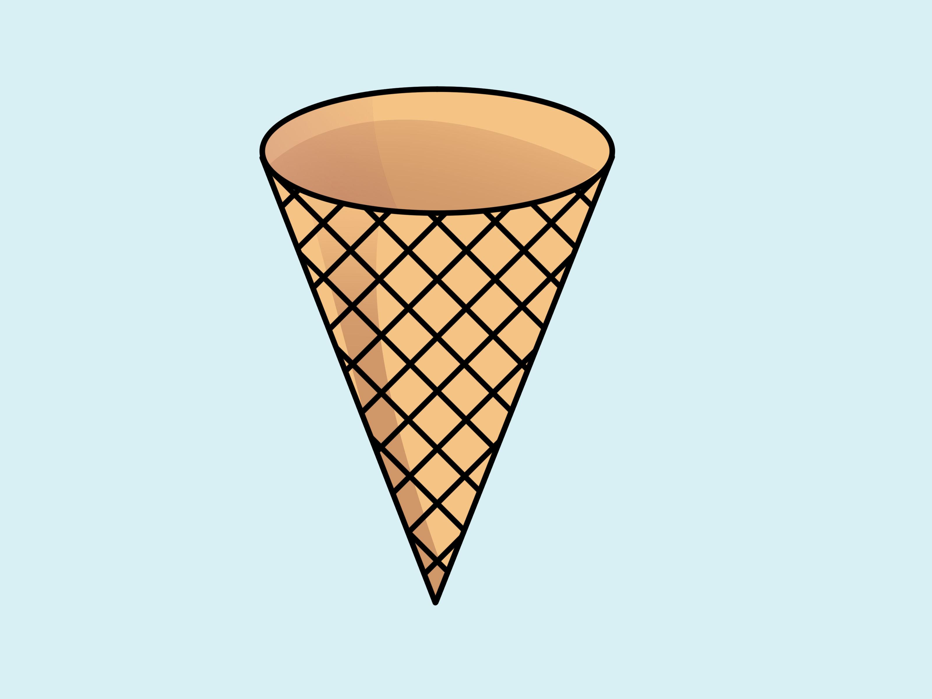 Ice cream cone clip art clipartfest