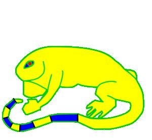 Iguana clip art download