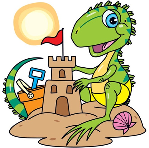Iguana clipart 11
