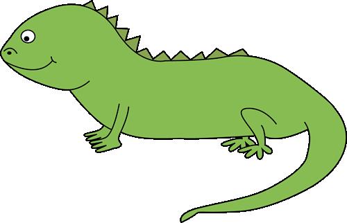 Iguana clipart 3