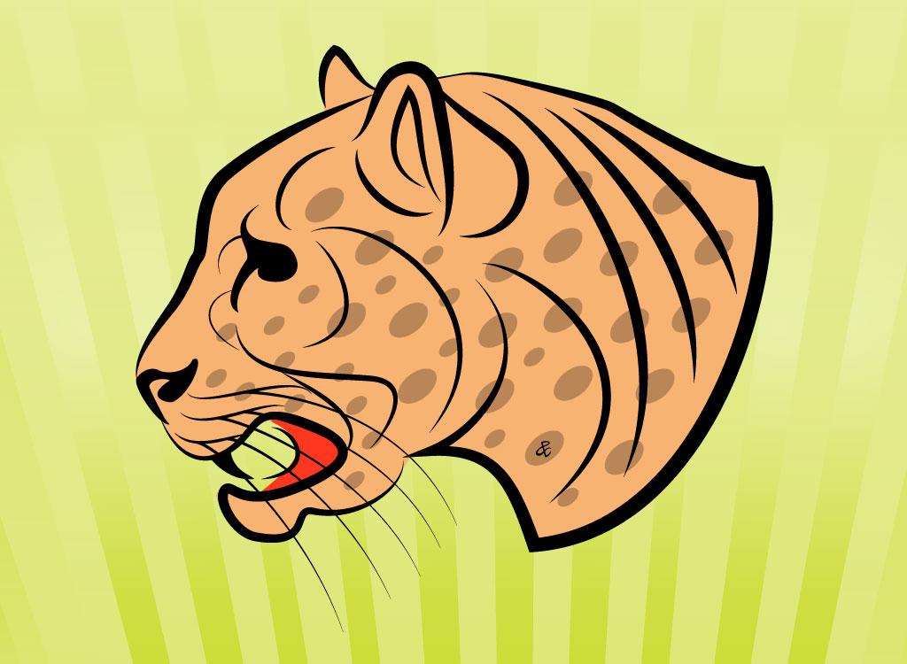Jaguar clip art 2