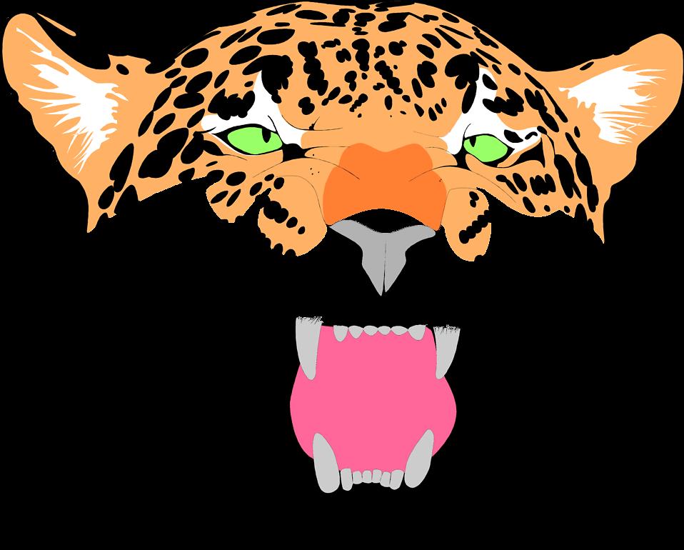 Jaguar clip art 3