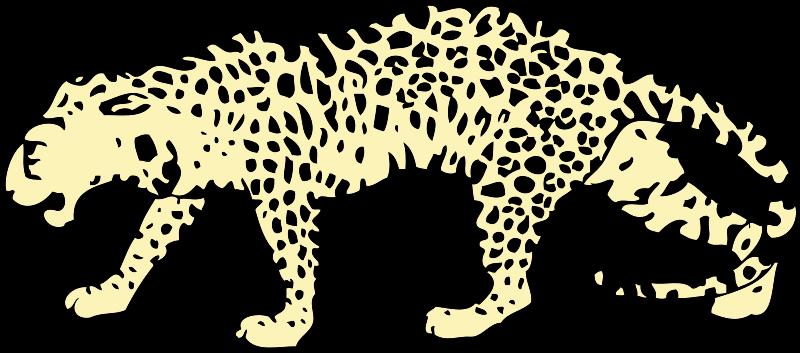 Jaguar clip art graphics