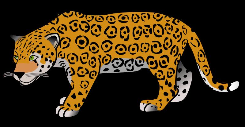 Jaguar clip art vector free clipart images