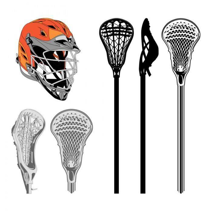 Lacrosse clipart 3