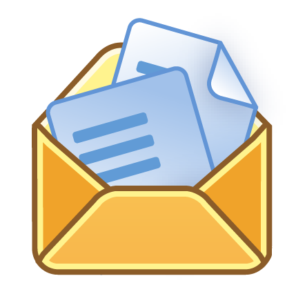 Letter in envelope open clipart free clipartfest